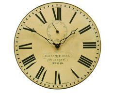 Roger Lascelles Clocks - Reloj de Pared con segundero, diseño de la estación de Glasgow