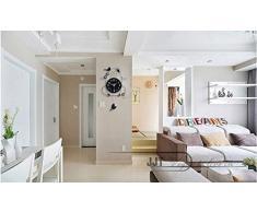 Life up® Reloj de pared del péndulo Pájaros pegatinas de pared movimiento de cuarzo para Salón / dormitorio / oficina