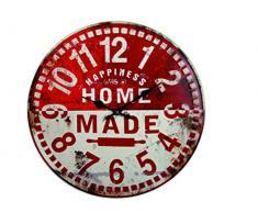 Reloj de pared de metal Retro Home Made 40 cm
