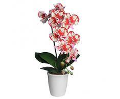 Ligne Déco 431309WO - Orquídea artificial en maceta (60 cm)