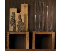 Leonardo Cube Column - Florero (50 cm)