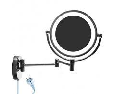 Espejo con luz compra barato espejos con luz online en for Espejo 8 aumentos