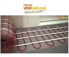 Calefacción por suelo radiante/de calefacción shaktí 160 W/cm, 4,2 x 0,5 M, ideal para la renovación de & de saneamiento, Vital calefacción 060105