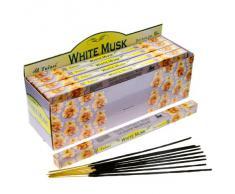 Tulasi McGuinness - Varillas de incienso con aroma a almizcle, lote de 25 paquetes
