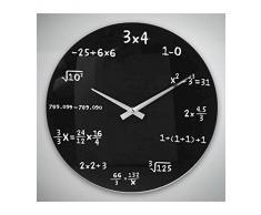 Reloj de Pared Matemáticas