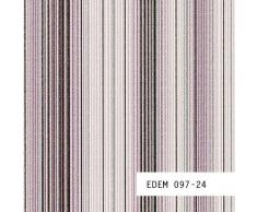 MUESTRA de papel pintado EDEM serie 097   Papel pintado a rayas suntuosas, 097-XX:S-097-24