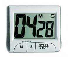 DAYAN LCD Reloj Cocina gran pantalla electrónica el temporizador de cocina blanco