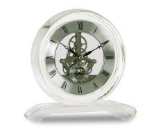 Acctim 36637 Hurlingham Reloj de chimenea, cristal