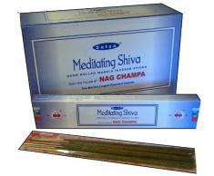 Satya Meditating Shiva Satya Religious Range - Varillas de incienso