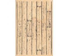 Florilèges FHA212093 Sello Diseño Scrapbooking Tablones de madera Beige 15 x 10 x 2,5 cm