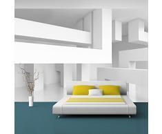 Fotomural 350x245 cm ! 3 tres colores a elegir - Papel tejido-no tejido. Fotomurales - Papel pintado 350x245 cm - abstracción 3D f-A-0097-a-c