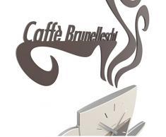 CalleaDesign Tazzina da caffé [taza de café reloj de pared]