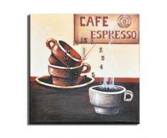 Reloj de pared Café Espresso - Lounge relojo. 30x30cm D 03