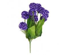 Planta Flor Hortensia Simulación Artificial Con La Decoración 9 Bolas De Flores (Mazarine)