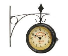 Reloj estación dos caras 14 CM DIAL