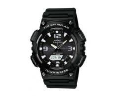 Casio AQ-S810W-1A - Reloj (Pulsera, Fibra de vidrio, Negro, Tough Solar, 5.22 cm, 4.66 cm)