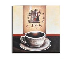 Reloj de pared Café - Lounge relojo 30x30cm D 02