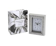 Present Day Diamante - Reloj de mesa