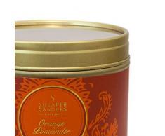 Shearer Candles SC0403 - Vela perfumada en Lata (Aroma de Invierno), Color Naranja