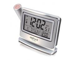 Dexford PCS2000 - Reloj de mesa solar con despertador y proyección de hora