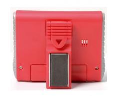 Temporizador de cocina electrónico, color rojo