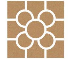 Stencil Deco Fondo 090 Baldosa Bilbao. Medidas aproximadas: Medida exterior del stencil: 20 x 20 cm Medida del diseño:16 x 16 cm
