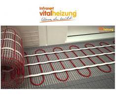 Calefacción por suelo radiante/de calefacción estera de 160 W/cm, 3,2 x 0,5 M, ideal para la renovación de & de saneamiento, Vital calefacción 060104