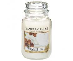 Yankee Candle Classic Housewarmer Grande, Shea Butter, Vela Perfumada, Ambiente Fragancia en Vaso / Jar, 1332212E