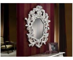 Espejo Clasico Juliette Blanco - Decoracion Hogar decora