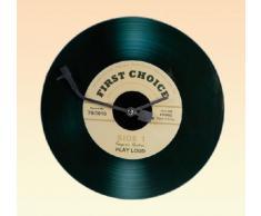 Out of the Blue 79/3016 - Reloj de pared (cristal), diseño de disco de vinilo