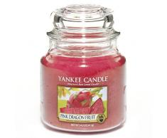 Yankee Candle vela en tarro mediano, Fruta del dragón rosa