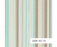 MUESTRA de papel pintado EDEM serie 967   Papel pintado no tejido XXL a rayas, 967-XX:S-967-25