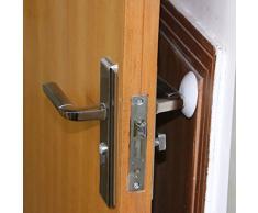 Protectores de goma de pared autoadhesivo para puerta protectores de carcasa tapón para botella de 6 cm 3 piezas