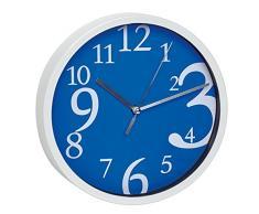 TFA 60.3034.06 - Reloj de pared electrónico, 200 mm, color azul