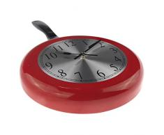 Relojes de pared Diseño de sartén de metal de reloj de pared de alta calidad