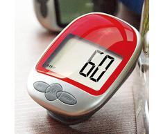 1 pc Big multifunción pantalla LCD de pantalla Sports podómetro escalón contador de calorías bastón de la distancia de movimiento Tracker podómetro