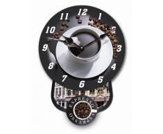 Tinas Collection – Reloj de péndulo con un café Diseño