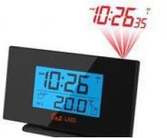 Labs LABS BL506 - Reloj con proyección de la hora, color negro