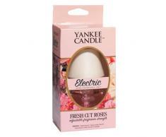 Yankee Candle C159-03 - Ambientador eléctrico, aroma a Rosas recién cortadas