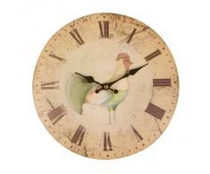 Premier Housewares - Reloj de pared para cocina con diseño de gallo (29 cm)