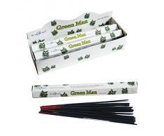 Stamford Green Man - Varillas de incienso (6 paquetes de 20 varillas)