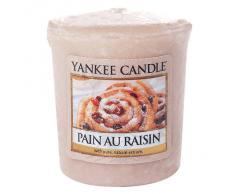 Yankee Candle Vela Votiv, für Samplerhalter, Pain au Raisin, Vela Perfumada, Raumduft, 1332256E