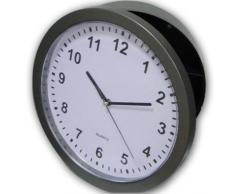 Reloj de pared con compartimento escondido alijo secreto de precisión para plata dinero