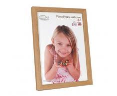 Inov8 A4 marco de fotos de madera de/marco de fotos, 2 unidades, color madera de roble