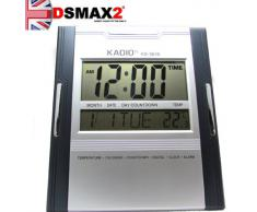 Kadio KD-3810 - Reloj digital de pared/mesa con temperatura