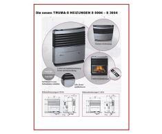 TRUMA 3004 - Calefacción de gas (30 mBar, 3500 W , para gas líquido LPG, con encendido automático, termostato, caja para empotrar sin revestimiento, distribución Holly de producto Stabielo)