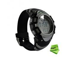 Ckeyin ® Impermeable Digital Compass Altímetro Barómetro Termómetro Presión Reloj de pulsera