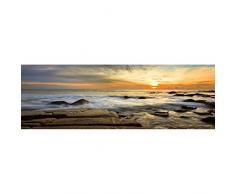 Innova FP05491 - Cuadro en lienzo (imprimido 30 x 90 cm) diseño de playa