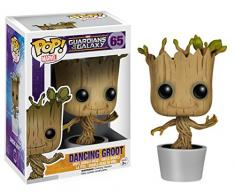 Funko Pop!- Bailando Figura de Vinilo Dancing Groot, colección Guardians of The Galaxy, (5104)