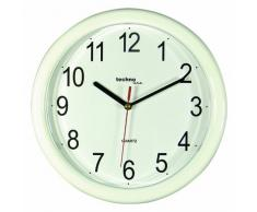Technoline Wt 600 - Reloj de Pared (Movimiento de Cuarzo) - blanco